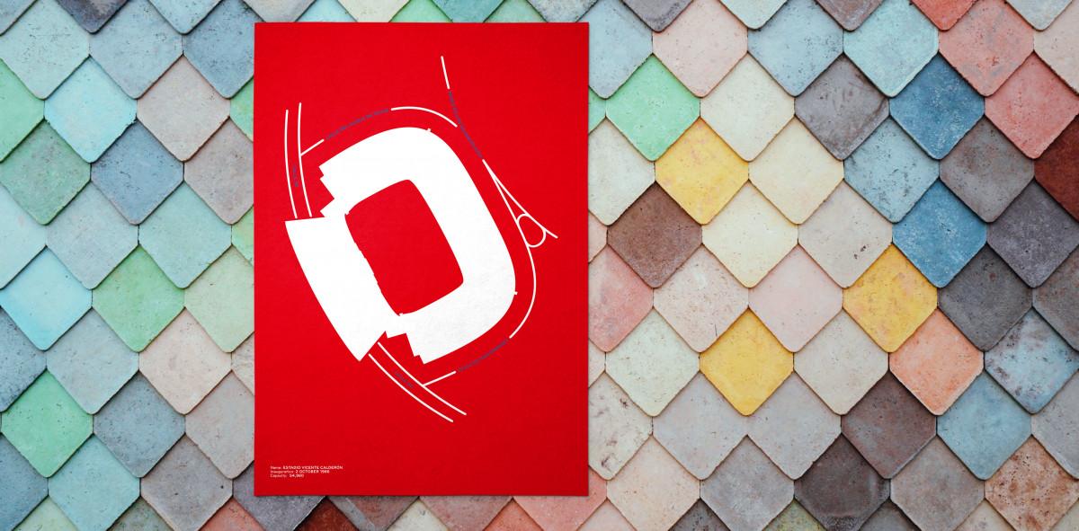 Piktogramm: Atletico Madrid - Poster bestellen - 11FREUNDE SHOP