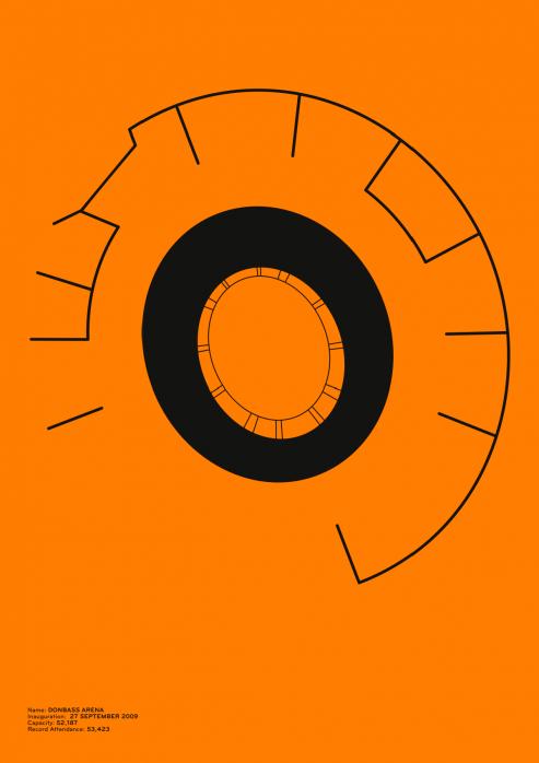 Piktogramm: Donezk - Poster bestellen - 11FREUNDE SHOP