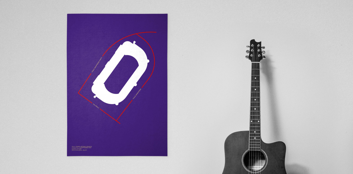 Piktogramm: Florenz - Poster bestellen - 11FREUNDE SHOP