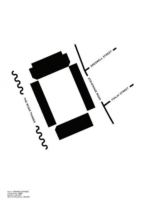 Piktogramm: Fulham - Poster bestellen - 11FREUNDE SHOP