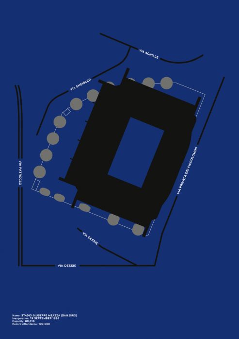 Piktogramm: Inter - Poster bestellen - 11FREUNDE SHOP
