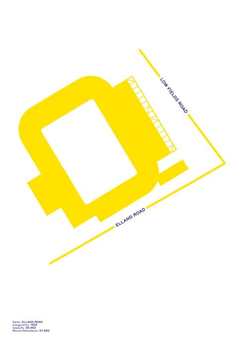 Piktogramm: Leeds - Poster bestellen - 11FREUNDE SHOP