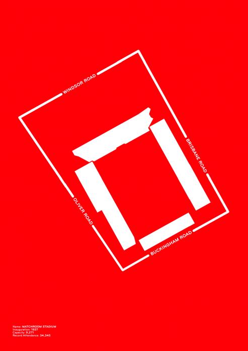 Piktogramm: Leyton Orient - Poster bestellen - 11FREUNDE SHOP