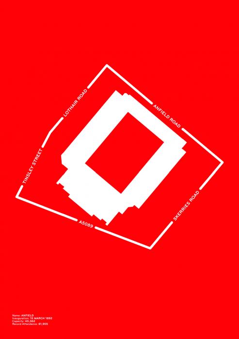 Piktogramm: Liverpool - Poster bestellen - 11FREUNDE SHOP