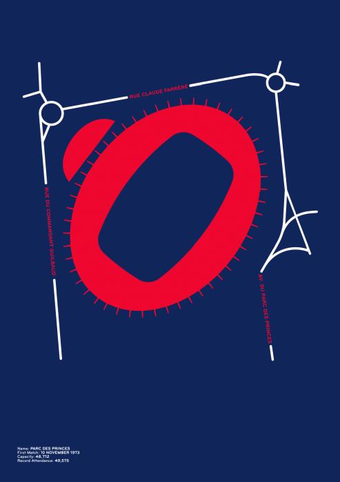 Piktogramm: Paris - Poster bestellen - 11FREUNDE SHOP