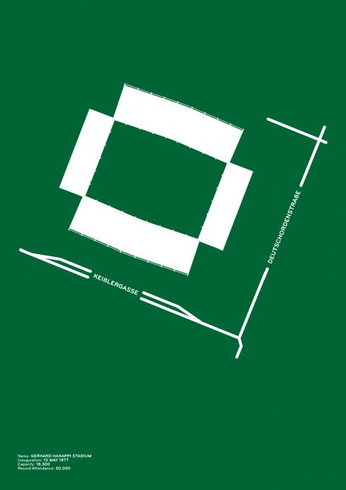 Piktogramm: Rapid Wien - Poster bestellen - 11FREUNDE SHOP