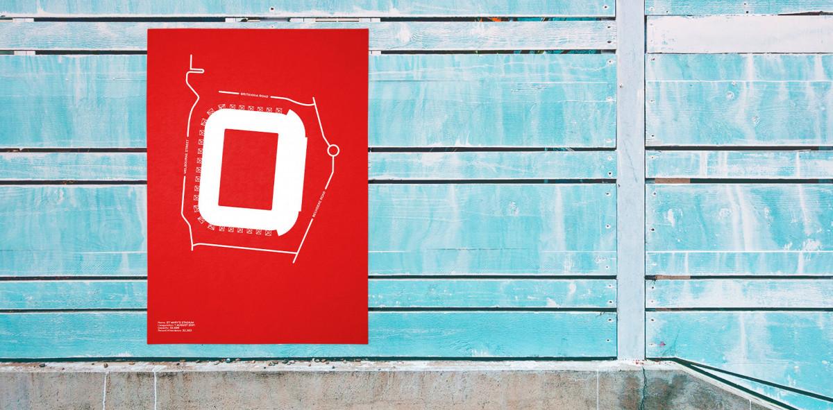Piktogramm: Southampton - Poster bestellen - 11FREUNDE SHOP