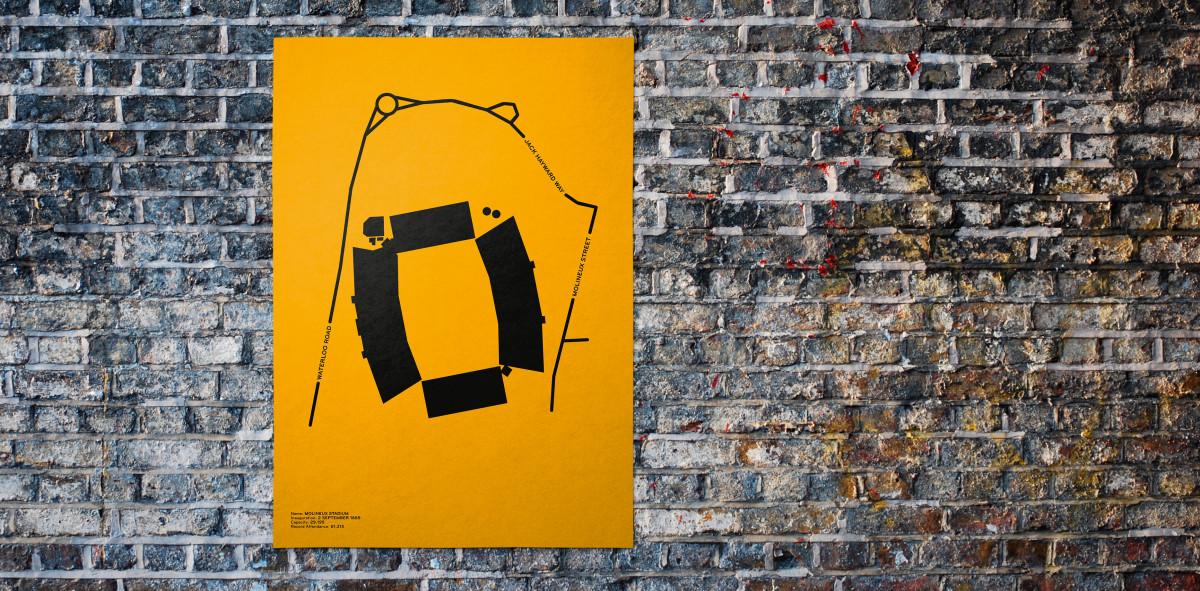 Piktogramm: Wolverhampton - Poster bestellen - 11FREUNDE SHOP