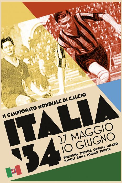 Italia 1934 - Poster bestellen - 11FREUNDE SHOP