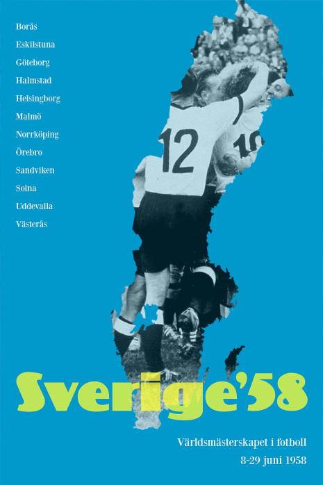 Sverige 1958 - Poster bestellen - 11FREUNDE SHOP