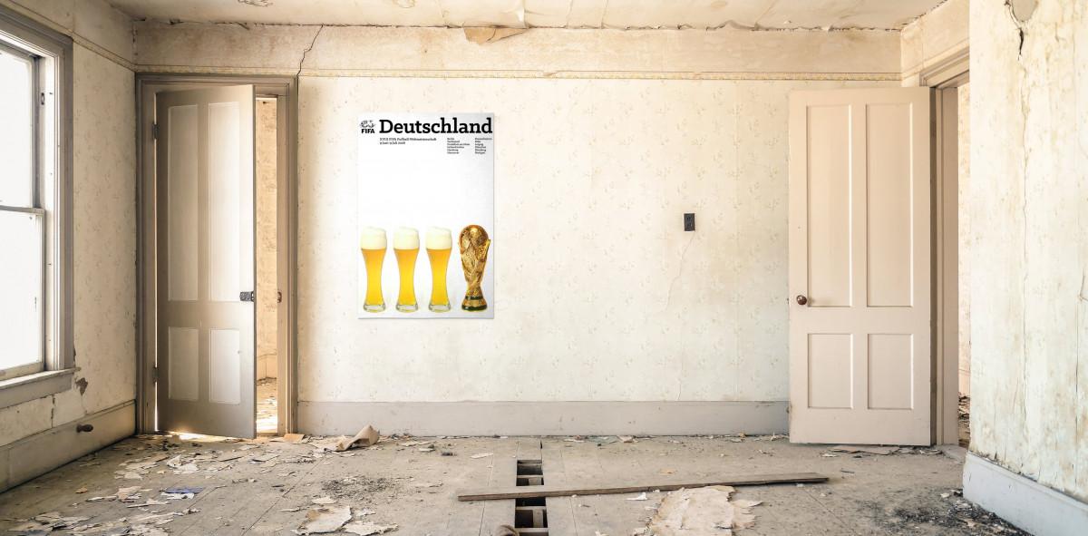 Deutschland 2006 - Poster bestellen - 11FREUNDE SHOP