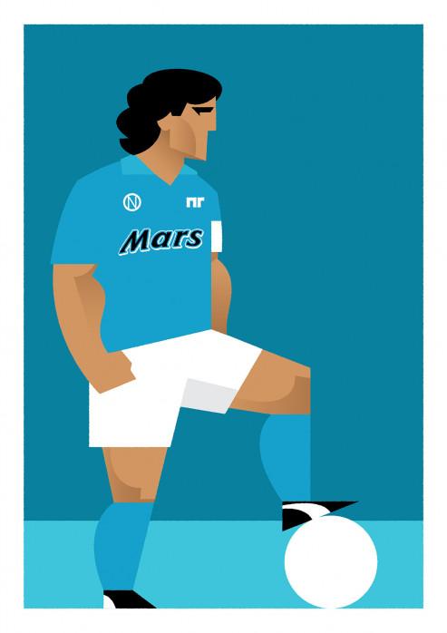 Stanley Chow F.C. - Diego (Napoli) - Poster bestellen - 11FREUNDE SHOP