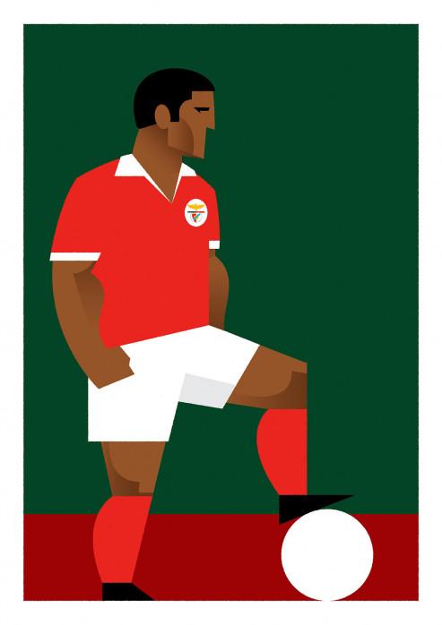 Stanley Chow F.C. - Eusébio - Poster bestellen - 11FREUNDE SHOP