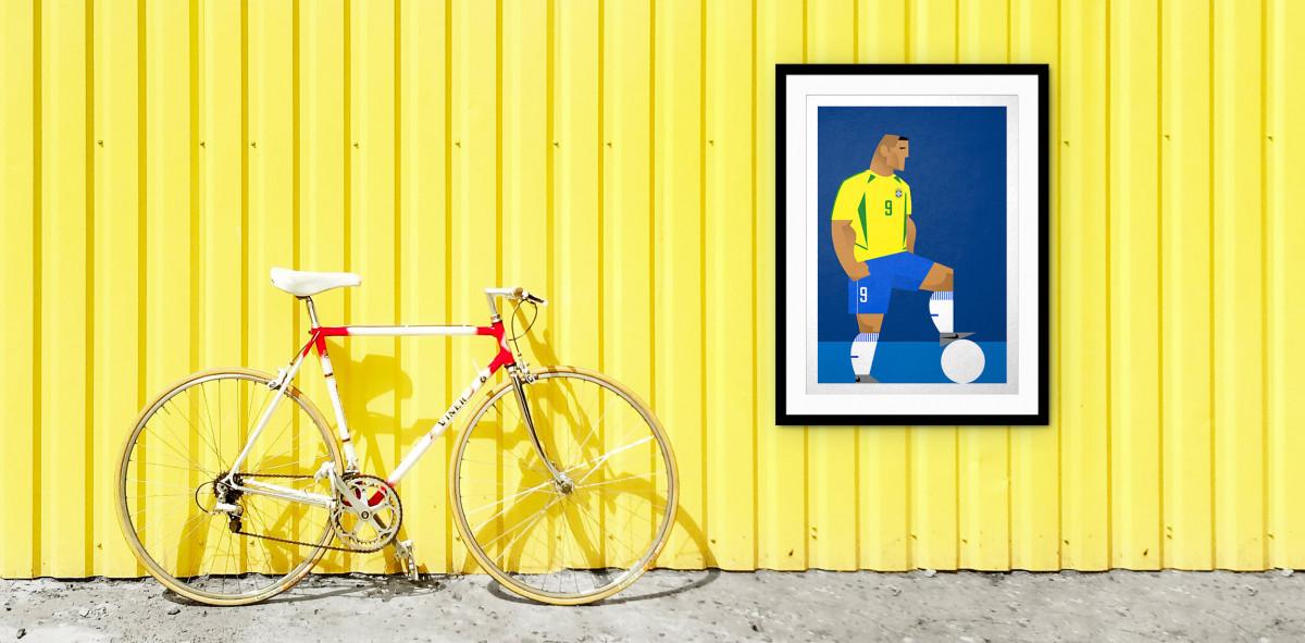 Stanley Chow F.C. - Ronaldo - Poster bestellen - 11FREUNDE SHOP