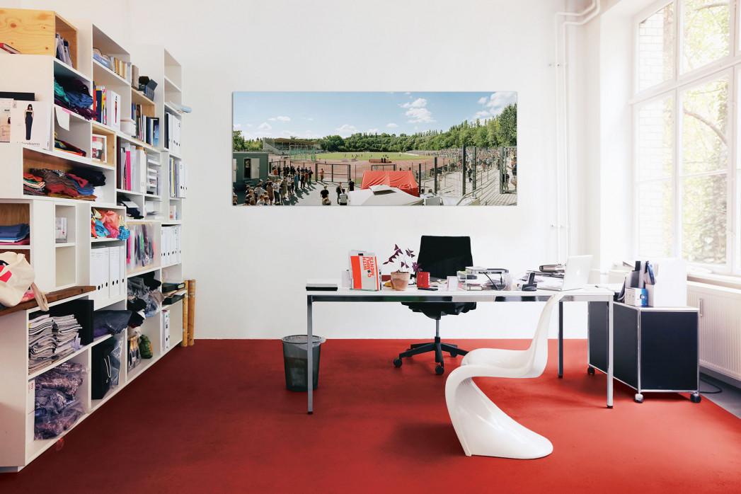 Das Berliner Poststadion in deinem Büro - 11FREUNDE BILDERWELT