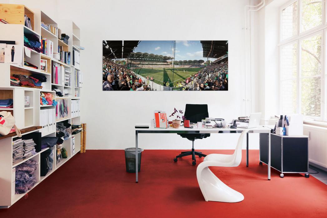 Rapid Wien Gerhard-Hanappi Stadion in deinem Büro - 11FREUNDE BILDERWELT