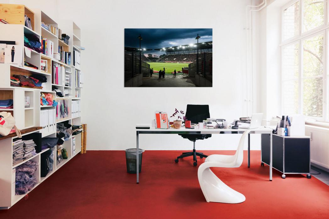 In deinem Büro: Blick in das Stadion Essen - 11FREUNDE BILDERWELT