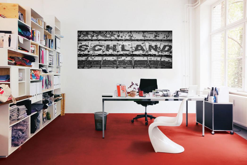 Schland in der Allianz Arena in deinem Büro - 11FREUNDE BILDERWELT