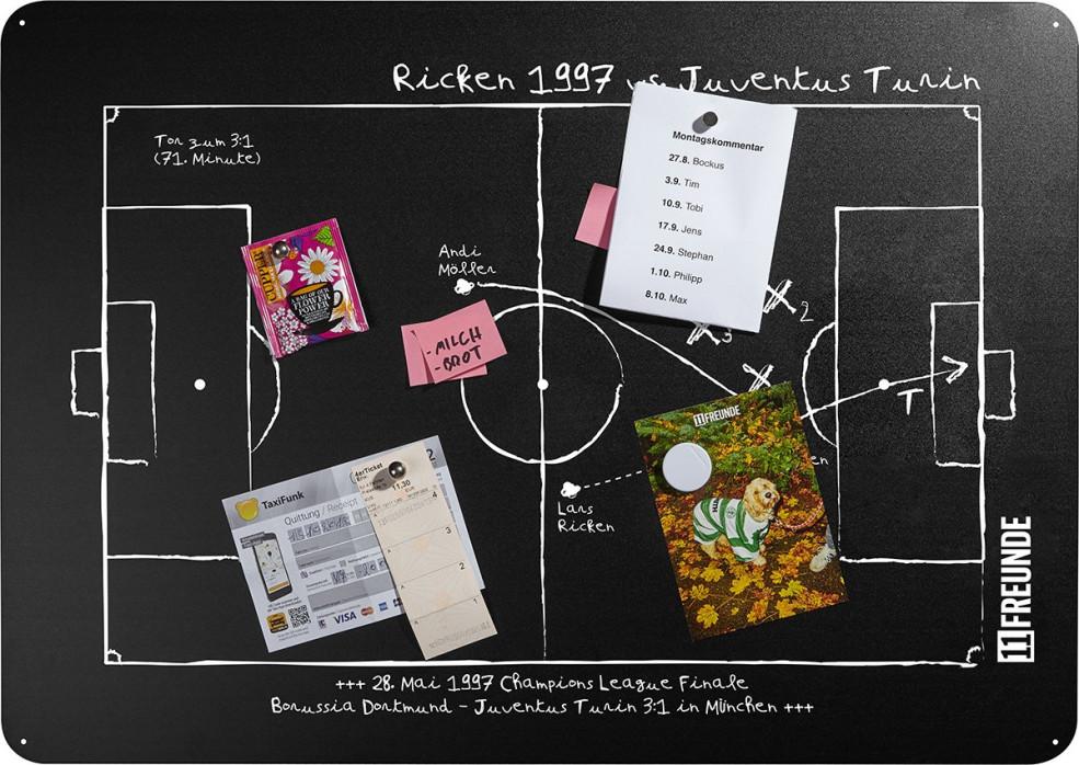 Magnettafel: Ricken 1997 - 11FREUNDE SHOP