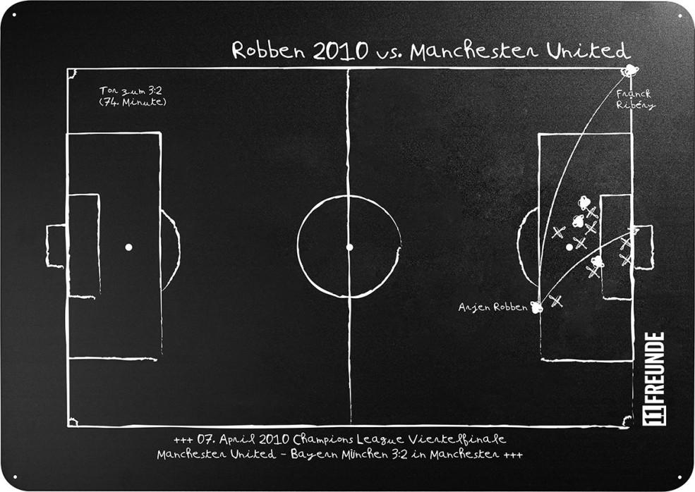 Magnettafel: Robben 2013 - 11FREUNDE SHOP
