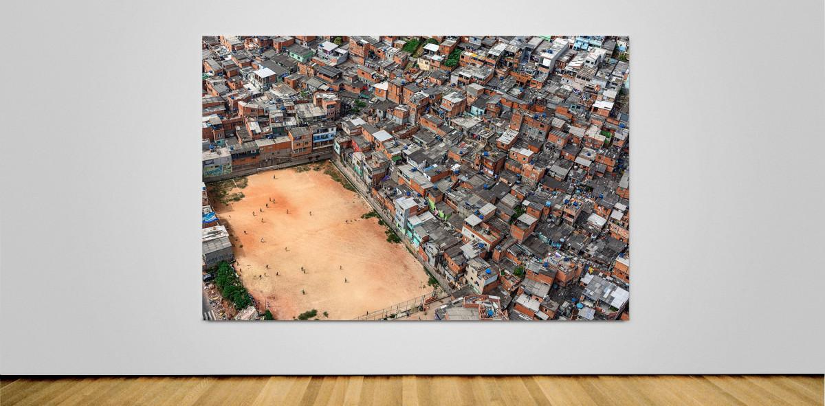 Fussballplatz in Sao Paulo - Wandbild - 11FREUNDE SHOP