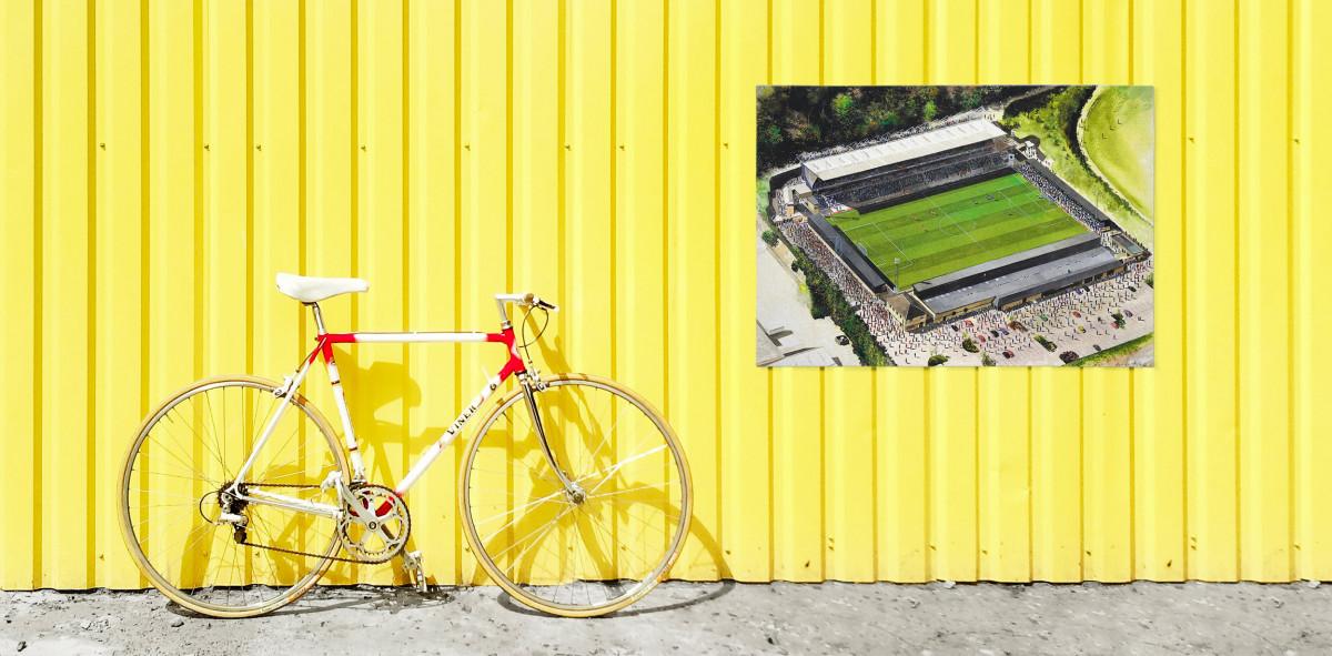 Stadia Art: Adams Park - Poster bestellen - 11FREUNDE SHOP