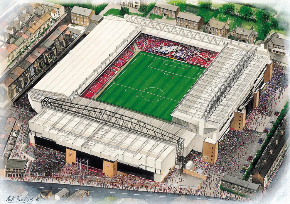 Stadia Art: Anfield (3) - Poster bestellen - 11FREUNDE SHOP