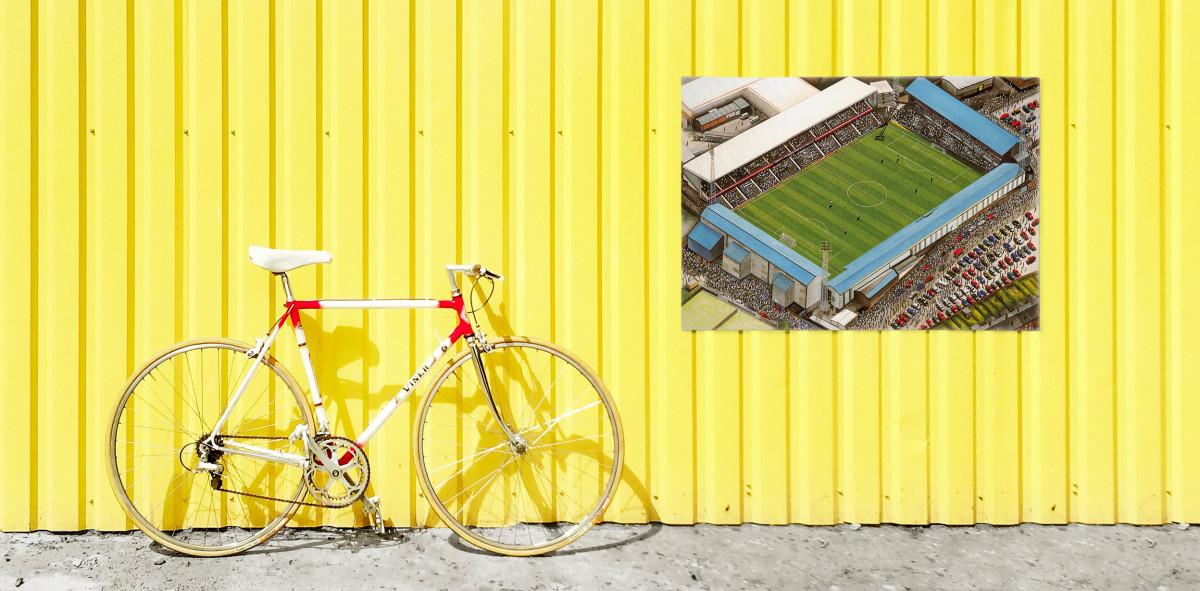Stadia Art: Baseball Ground - Poster bestellen - 11FREUNDE SHOP