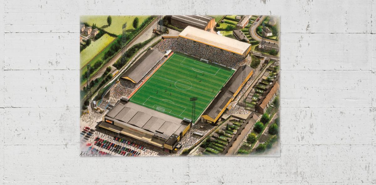 Stadia Art: Boothferry Park - Poster bestellen - 11FREUNDE SHOP