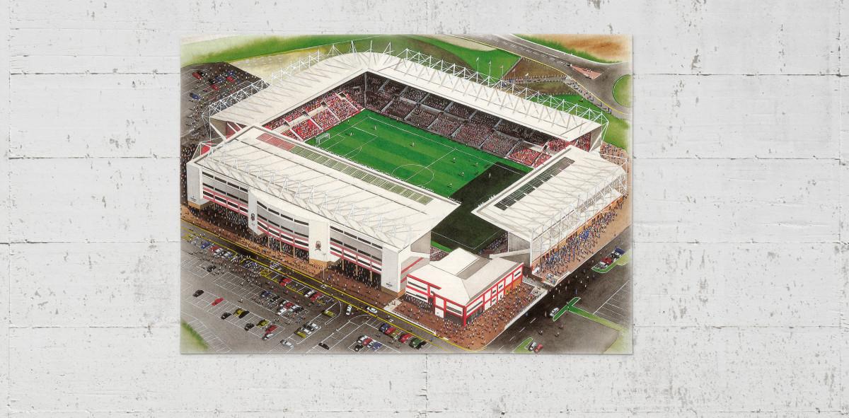Stadia Art: Britannia Stadium - Poster bestellen - 11FREUNDE SHOP