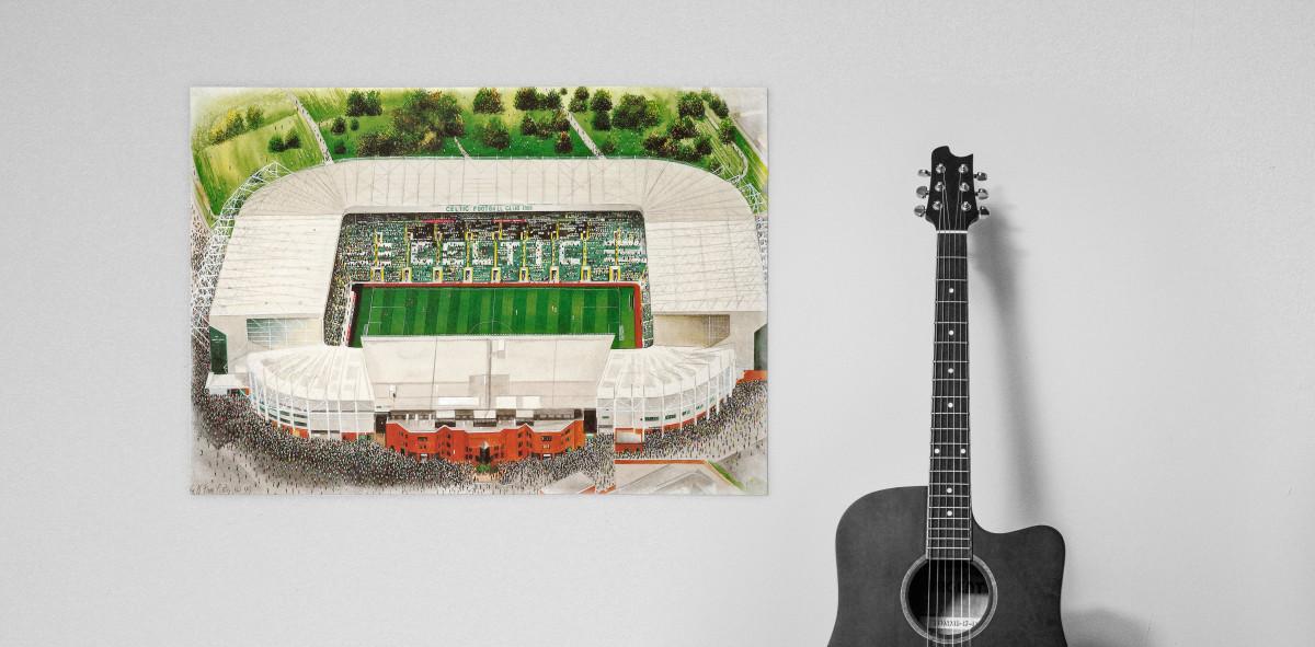 Stadia Art: Celtic Park - Poster bestellen - 11FREUNDE SHOP