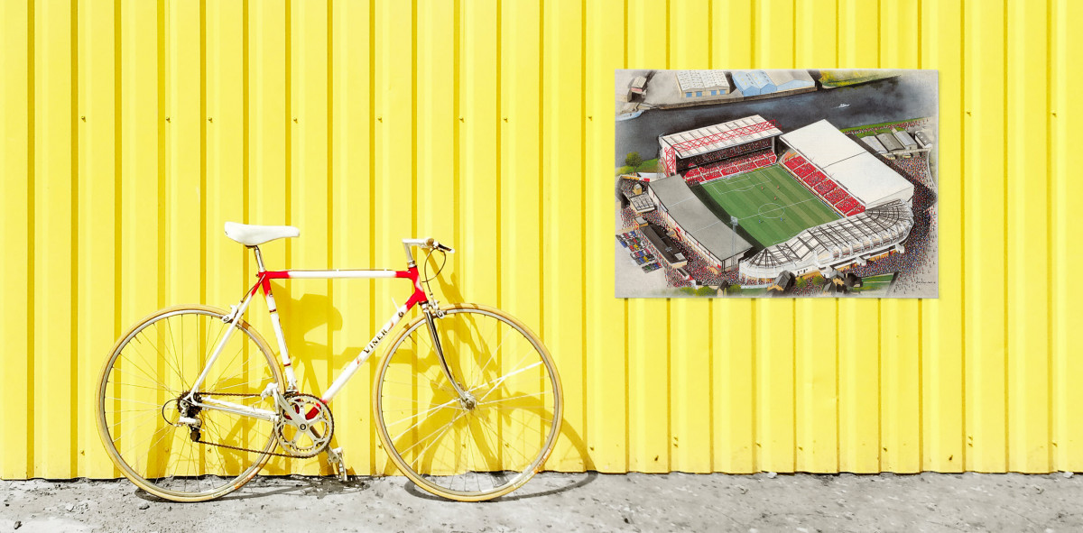 Stadia Art: City Ground - Poster bestellen - 11FREUNDE SHOP
