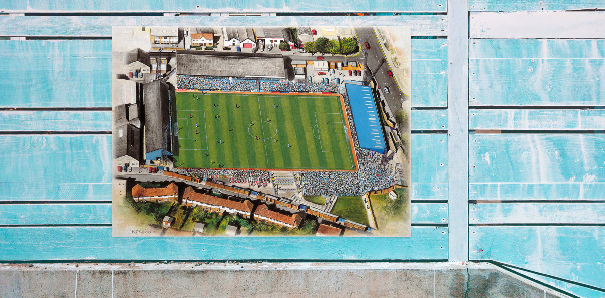 Stadia Art: Goldstone Ground -  Poster bestellen - 11FREUNDE SHOP