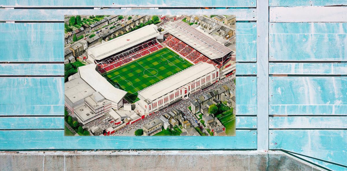 Stadia Art: Highbury - Poster bestellen - 11FREUNDE SHOP