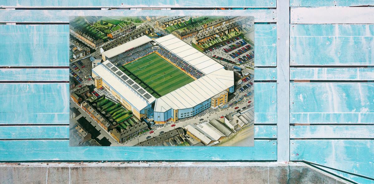 Stadia Art: Highfield Road - Poster bestellen - 11FREUNDE SHOP