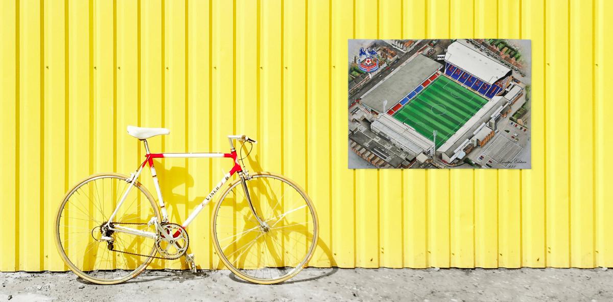 Stadia Art: Selhurst Park - Poster bestellen - 11FREUNDE SHOP