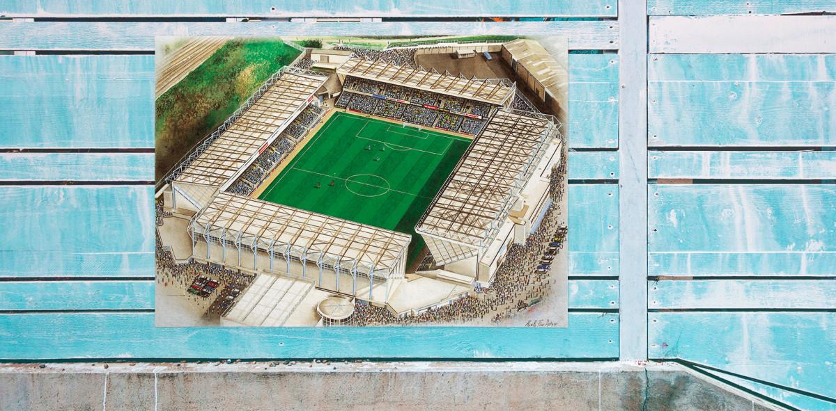Stadia Art: The Den - Poster bestellen - 11FREUNDE SHOP