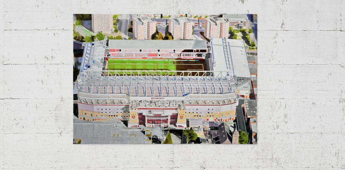 Stadia Art: Upton Park (2) - Poster bestellen - 11FREUNDE SHOP