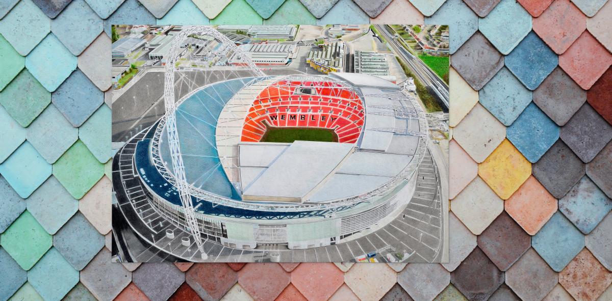 Stadia Art: Wembley (1) - Poster bestellen - 11FREUNDE SHOP