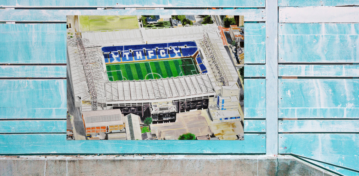 Stadia Art: White Hart Lane (1) - Poster bestellen - 11FREUNDE SHOP