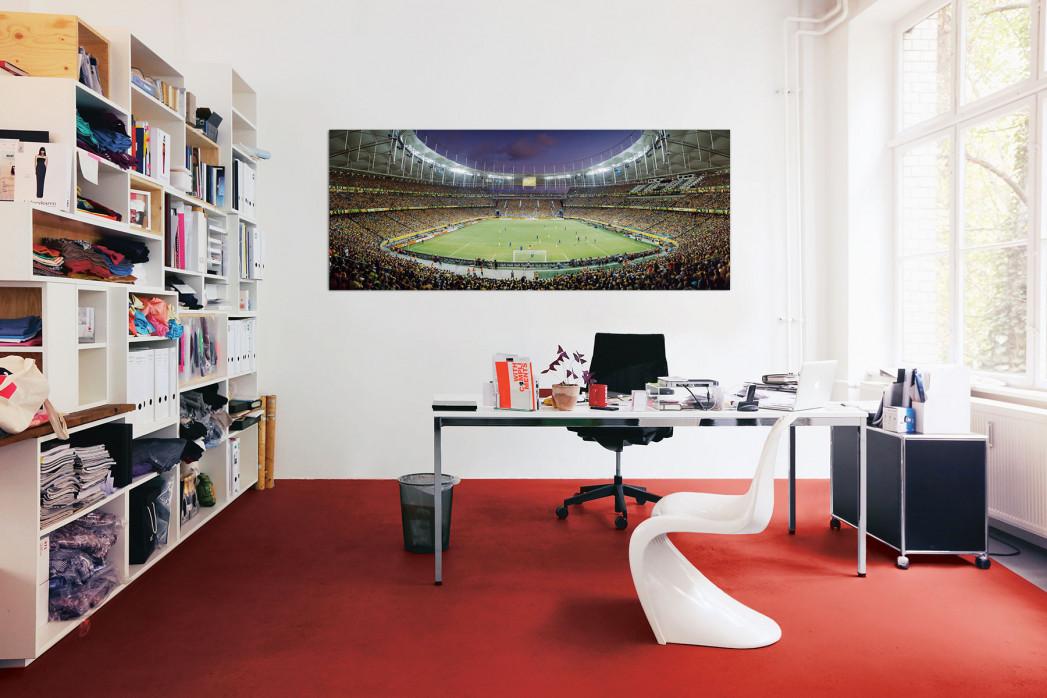 In deinem Büro: Salvador am Abend - Arena Fonte Nova - 11FREUNDE BILDERWELT