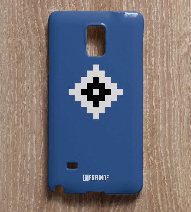 Pixel-Wappen: Hamburg - Smartphonehülle - 11FREUNDE SHOP