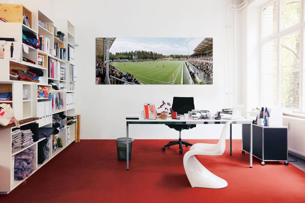 Sandhausen Hardtwaldstadion in deinem Büro - 11FREUNDE BILDERWELT