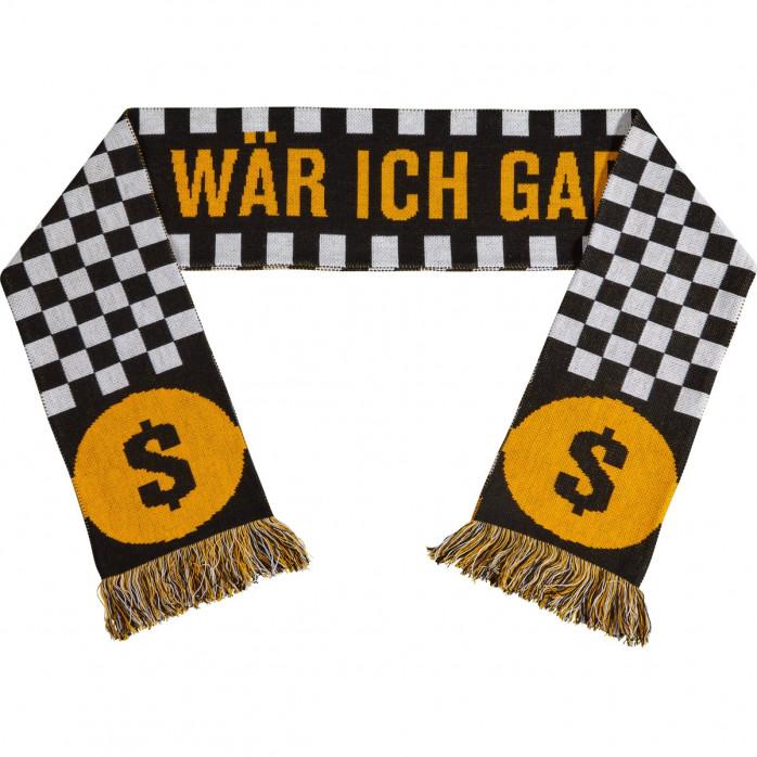 FC Weißgold Sylt Fanschal II: Ohne Papa wär ich gar nicht hier