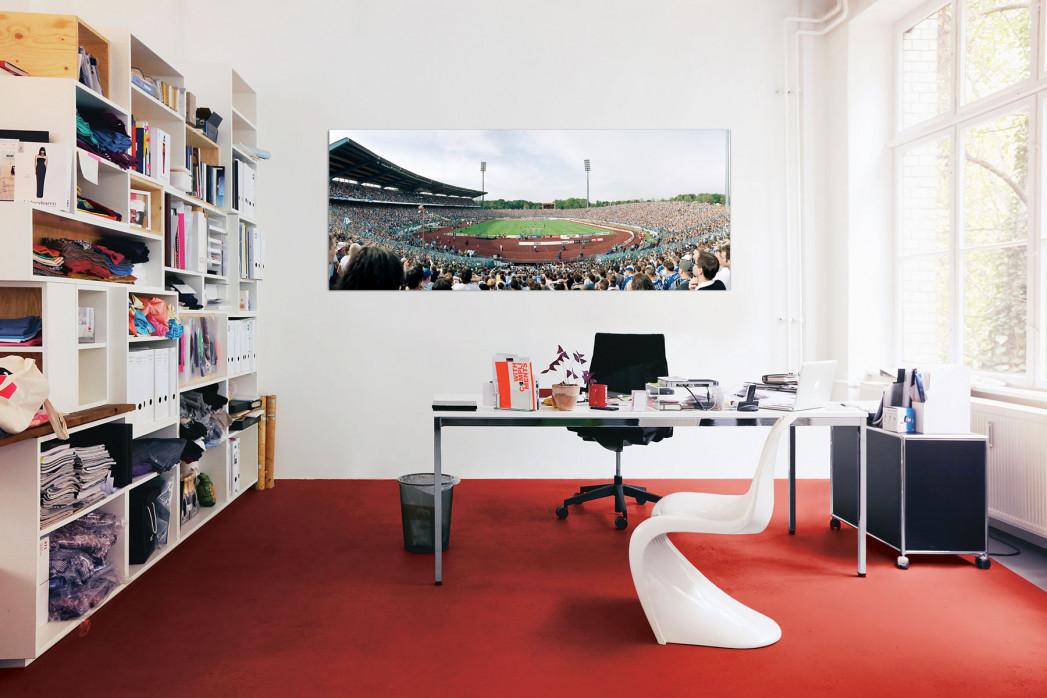 FC Schalke 04 Parkstadion in deinem Büro - 11FREUNDE BILDERWELT