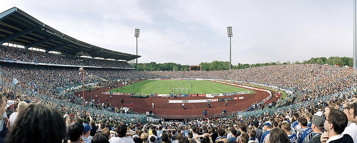 FC Schalke 04 Parkstadion - 11FREUNDE BILDERWELT