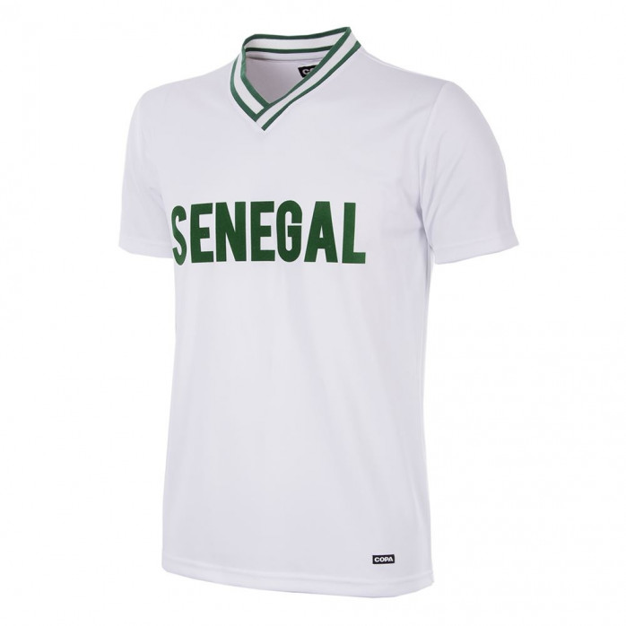Senegal 2000 Short Sleeve Retro Football Shirt