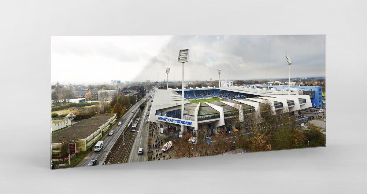 Vogelperspektive rewirpowerSTADION - VfL Bochum Stadion Fußball Fotografie
