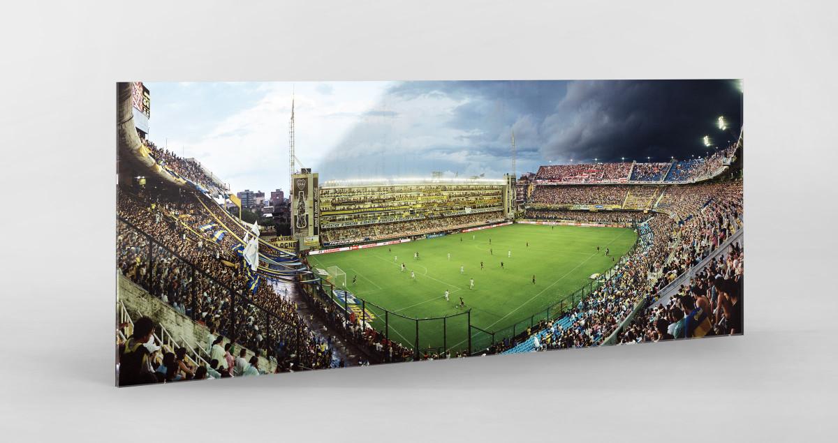 La Bombonera (remastered Panorama) - Fußball Foto - Reinaldo Coddou H.