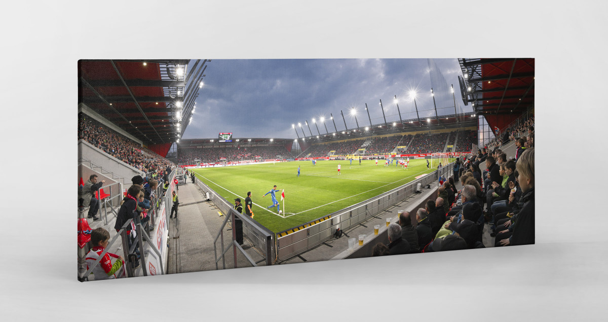 Regensburg - Jahn Regensburg Stadionfoto als Wandbild